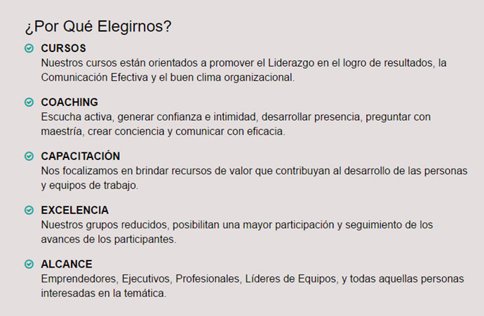 Coaching Ontologico Cursos Capital Federal
